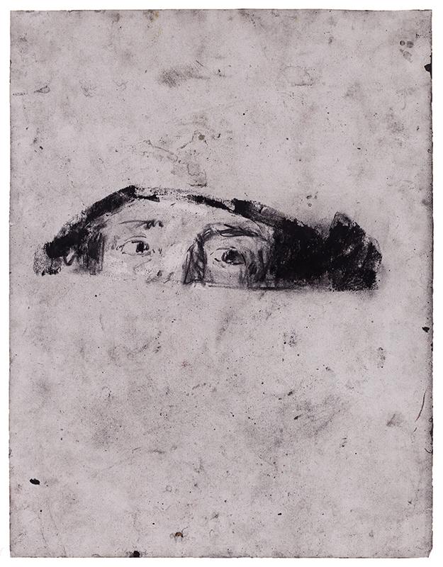 Joao Jacinto, st 15, mista s papel, 64,9x50 2018