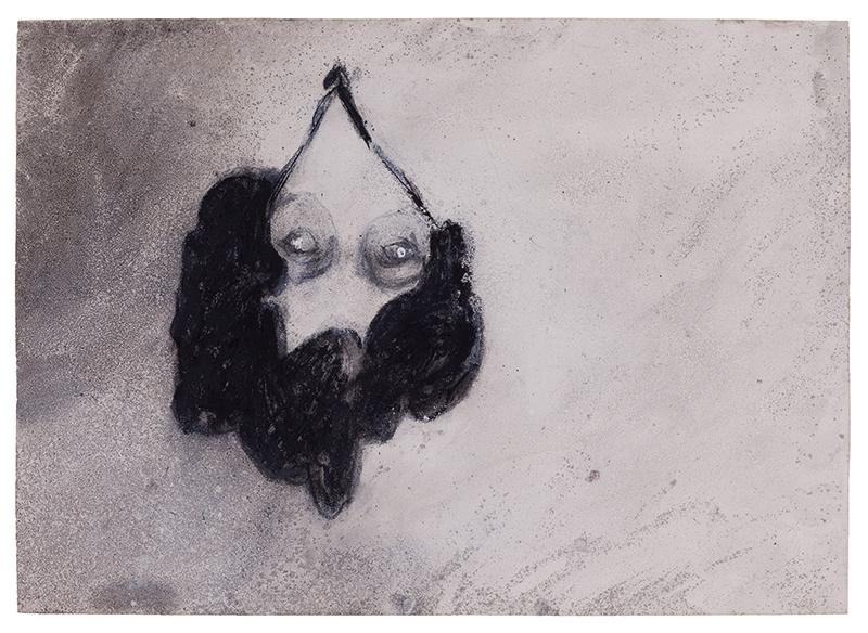 Joao Jacinto, st 19, mista s papel, 49,8x69,7 2014