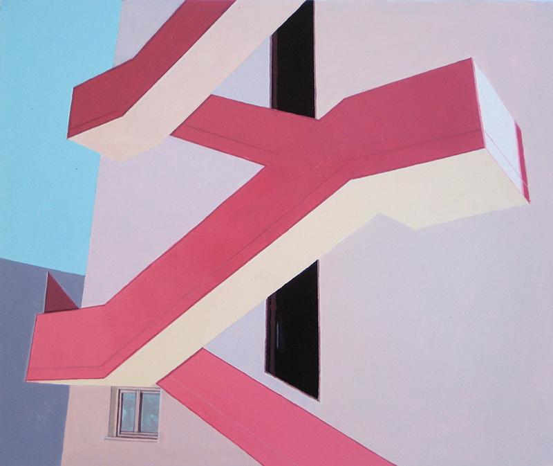 Gabriel Colaço - Viewpoint 12- 44x45cm -acrylic-on-paper-2011