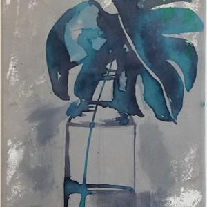 Filipa Godinho - sem titulo 1, mista s tela, 40x20cm