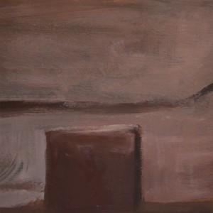 Gabriel Garcia - eclipse I _oleo sobre papel_ 26x19cm