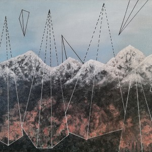 Joana Soberano - Study for wonderland XII, 2019, 30x40cm, acrilico s tela B