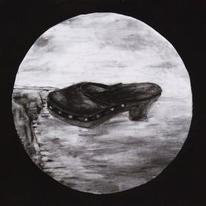 Leonel Cunha - atlantico 10, 1999, 32x40cm, carvão e tempera s papel