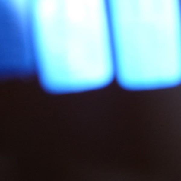 Martim Brion - 931 Hue of blue serie, acrilico aluminio papel fotografico, 35x40cm, 2015