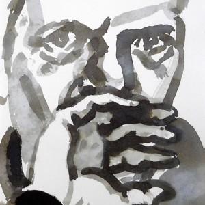 Miguel Navas - st3, 2014, aguada t permanente s papel, 21x14,8cm
