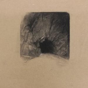 Pedro Pascoinho - st4, 2019, 27x24cm, carvão s papel