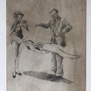 Rita Melo - st 5, 42x30cm, 2017, acrilico e grafite s papel