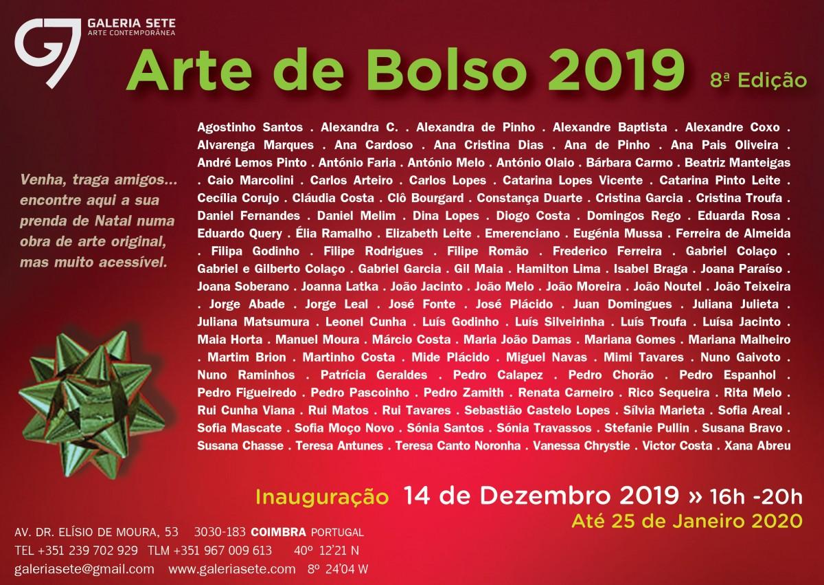 convite Arte de Bolso 19
