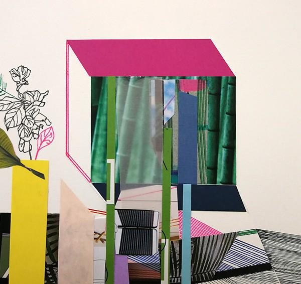 Ana Pais Oliveira - Moradia de sonho 30,14,8x21cm, 2019 mista s papel