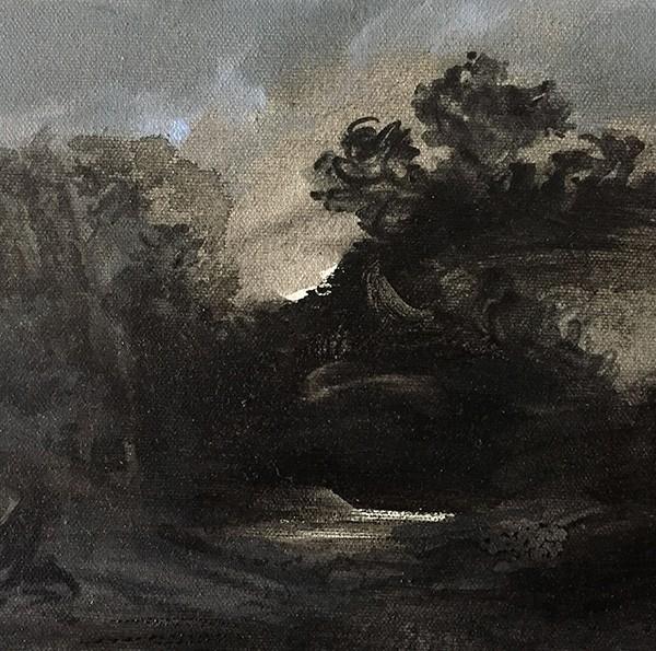 António Faria - st 2, guache sobre tela, 18x24cm