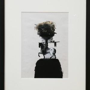 António Melo- sem titulo 3, 2019, mista s papel, 46,5x37,5cm
