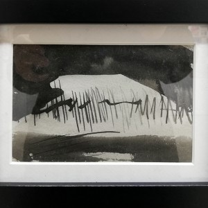 Catarina Pinto Leite - Esconderijo, 2012, tinta da china s cartolina, 15,5x20,5cm
