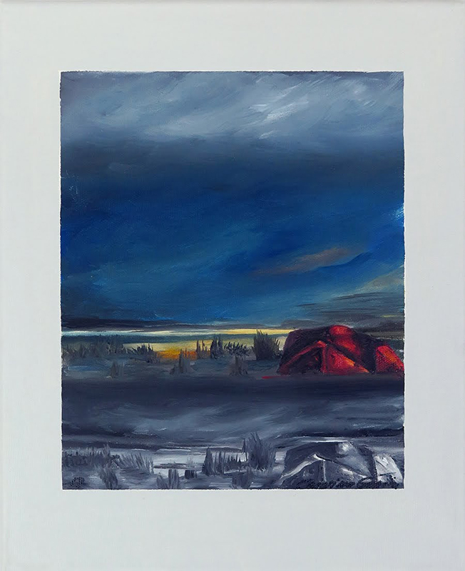 Cristina Garcia - serie-mindscapes-J-6-oleo-sobre-tela-24-x-30-cm, 2018