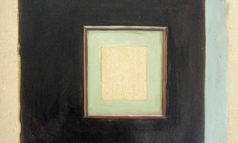 Pedro Pascoinho - Void, sem data, 31x38cm oleo s papel