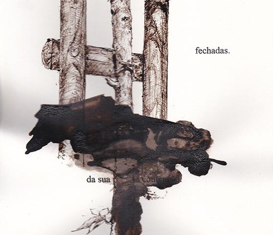 Jorge Abade - St 28, 2015-2020, 29,7x21cm, mista