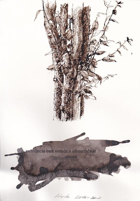 Jorge Abade - St 30, 2015-2020, 29,7x21cm, mista