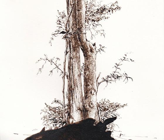 Jorge Abade - St 31, 2015-2020, 29,7x21cm, mista