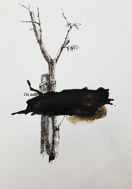 Jorge Abade - St 33, 2015-2020, 29,7x21cm, mista