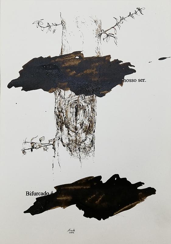 Jorge Abade - St 34, 2015-2020, 29,7x21cm, mista