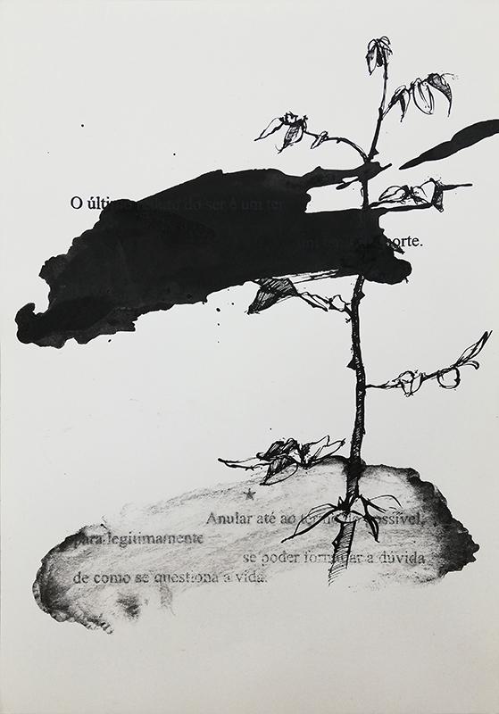 Jorge Abade - St 35, 2015-2020, 29,7x21cm, mista