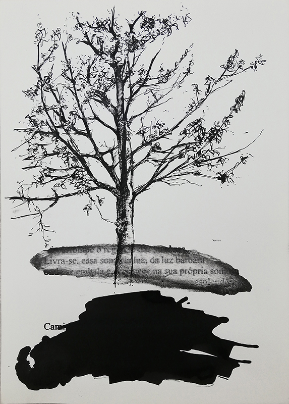 Jorge Abade - St 36, 2015-2020, 29,7x21cm, mista