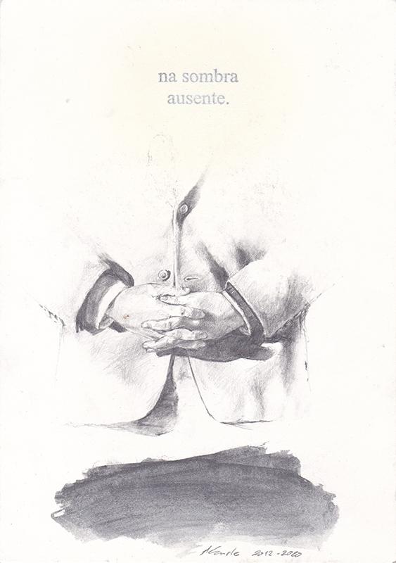 Jorge Abade - St 39 , 2014-2020, 21x17cm, mista