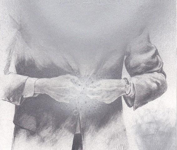 Jorge Abade - St 40 , 2014-2020, 21x17cm, mista