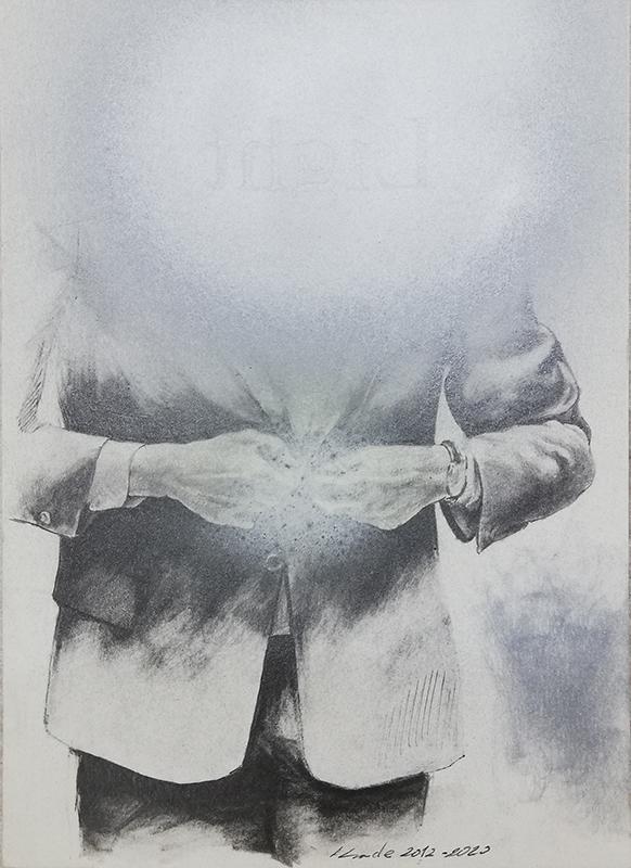 Jorge Abade - St 40, 2014-2020, 21x17cm, mista