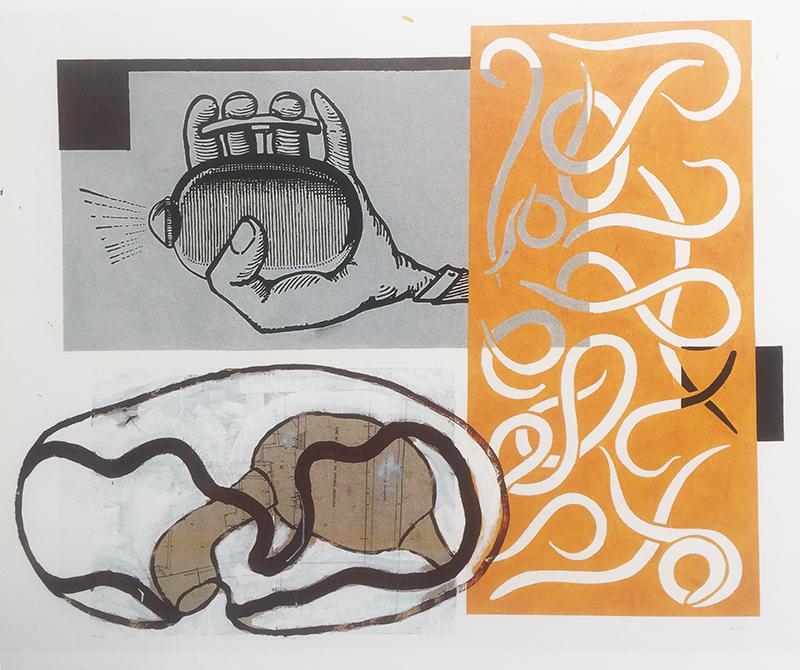 Miguel Teles da Gama - Yellow Cab, 2004, acrilico s papel, 120x150cm - original BD