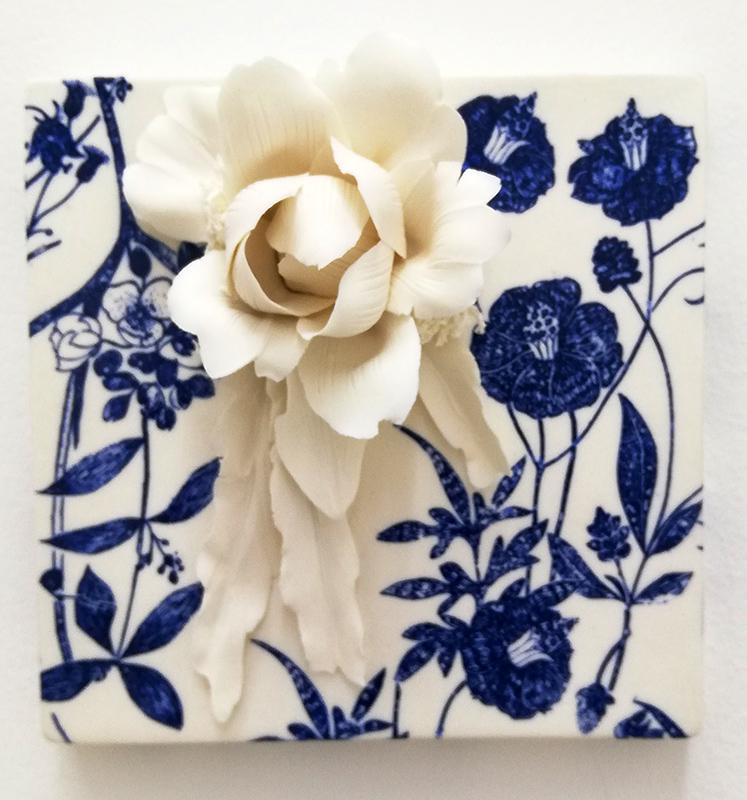 Noemi Iglesias Barrios - Hua Dan 1 - Porcelana artika e cobalto, 15x15x6cm BD