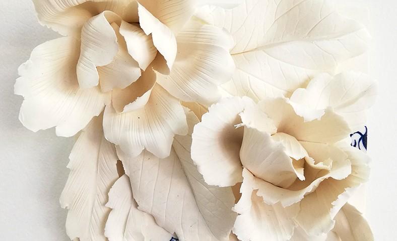 Noemi Iglesias Barrios - Hua Dan 8 - Porcelana artika e cobalto, 15x15x6cm BD
