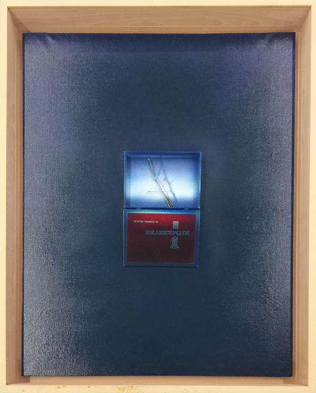 Noronha da Costa - St, 1990, 109x90x10cm, pintura s colagem s tela BD
