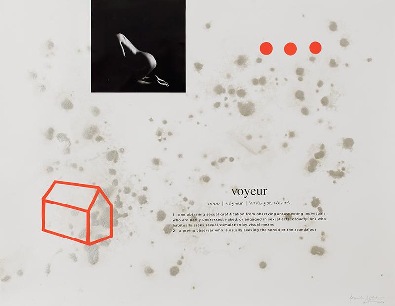 Alexandre Baptista - INSIDEDOTCOM 12, 50x65, 2016, acrilico, fotografia, serigrafia s papel