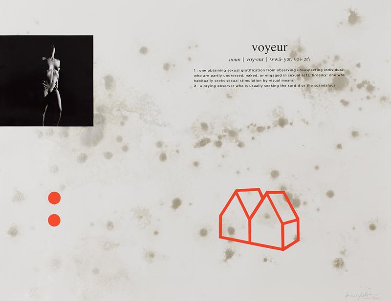 Alexandre Baptista - INSIDEDOTCOM 15, 50x65, 2016, acrilico, fotografia, serigrafia s papel