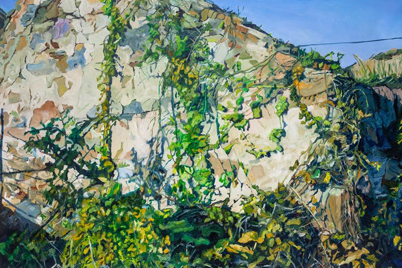 Martinho Costa - Trepadeira, 2019, oleo s tela, 95x142 1800