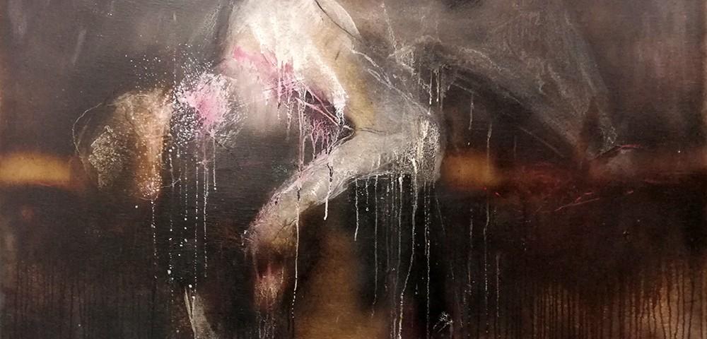 Maria João Franco - laura meu amor, 2018, 87x162cm, mista s tela