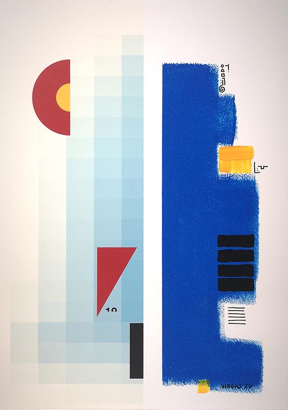 Acácio Viegas - Manifesto 2, acrilico s impressão digital em aluminio, 29,5x42cm, 2020