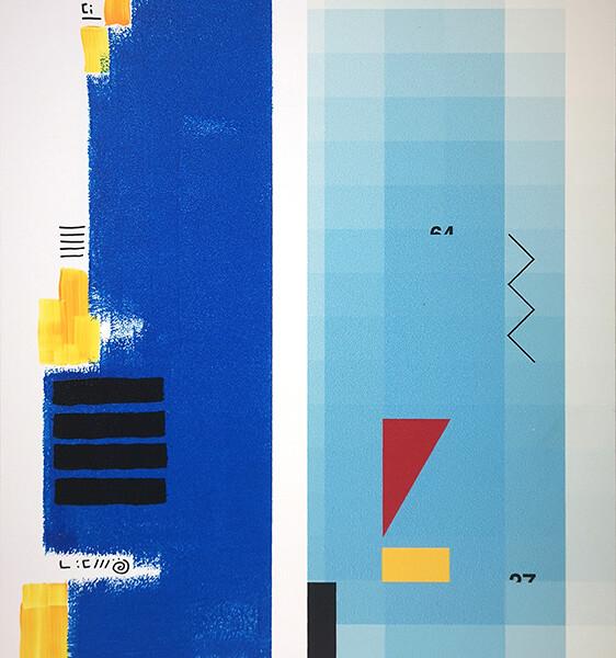 Acácio Viegas - Manifesto1, acrilico s impressão digital em aluminio, 29,5x42cm, 2020