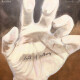 Ana Silva - Hand full of nothing, 30x30cm, acrilico s tela