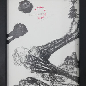 António Olaio - Cleaning up the vacuum 116, 2020, 26x20cm, grafite s papel