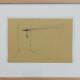 Carlos No - Estudo para obra Estais 1, 2018, 14,5 x21cm, tinta da china s papel