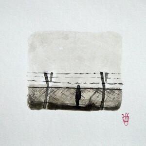 Gabriel Garcia - serie poetica das sombras IV_19x24cm_2020, tinta da china e vieux chen s papel