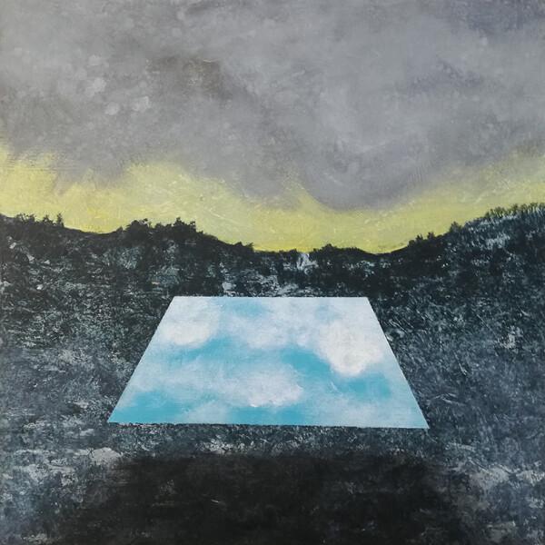 Joana Soberano - polarities 3, 2020, 20x20cm, acrilico s mdf