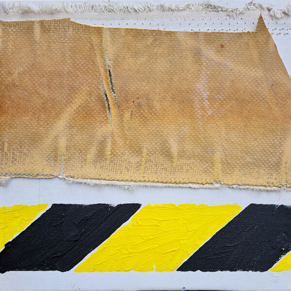 José Fonte- VOYAGE 4-4, 22,5x23X5cm, Acrílico lona tela 2020