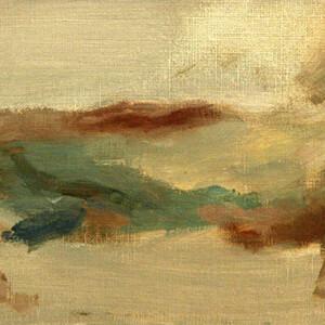 Ricardo Angélico - 1999 - sem título (lagarto), óleo sobre papel (12x25cm) - Ricardo Angélico