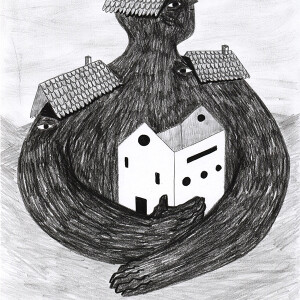 Ricardo ladeira - Casa, lapis de cor s papel, 29,7x21cm