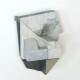 Rui Tavares - Alphabet II 01, 2020, mista s mdf e madeira, 10,5 x 7,8 x 6 cm