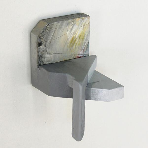 Rui Tavares - Alphabet II 04, 2020, mista s madeira, 9,2 x 6 x 6,7 cm