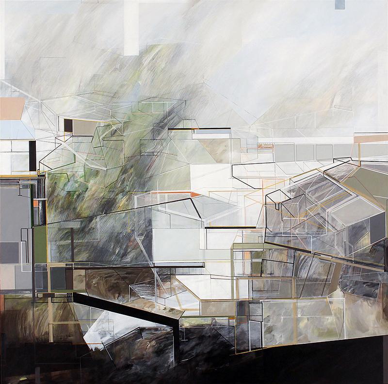 Susana Chasse - In Between #00, Mista s Tela,1300 x 1300 cm, 2020