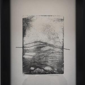 Vitor Malva - mindlandescape1, bordado e monoprint s papel, 29,7x21cm